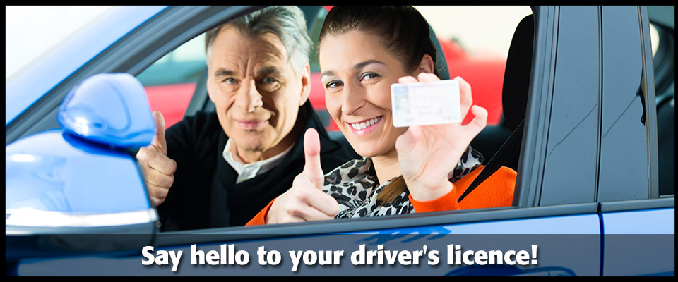 Say hello to your driver's licence!